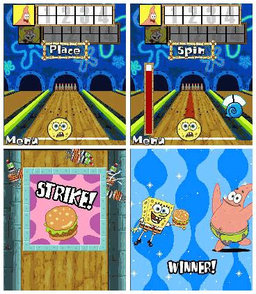 Sponge Bob Bowling