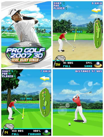 Pro Golf 2007 3D Feat. Vijay Singh