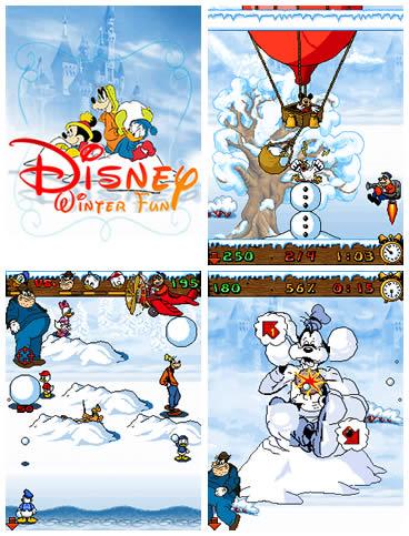 Зимние Игры с героями Диснея