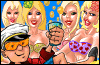 Игра Порнобарон 2 для мобильного телефона SonyEricsson J300x