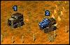 Игра Гонки на джипах 2D для мобильного телефона SonyEricsson J200
