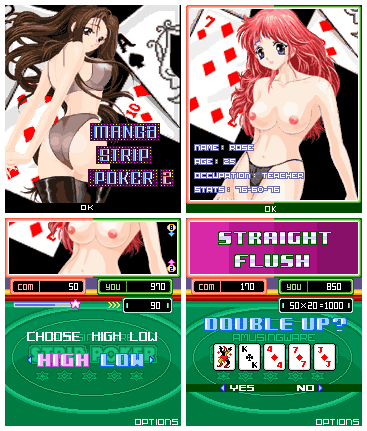 Manga Strip Poker2