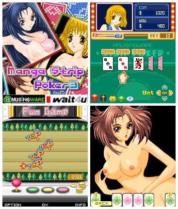Manga Strip Poker3