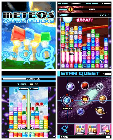 Meteos Astro Blocks