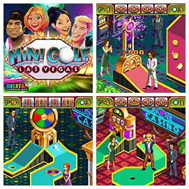 Minigolf Las Vegas 2D