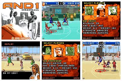 And 1 Street Basketball