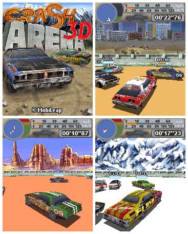 Crash Arena 3D: гонки на выживание
