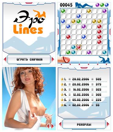 Секс игра Lines (Линии)