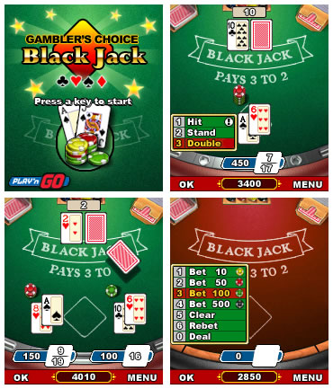 Gamblers Choice Black Jack