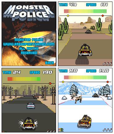 Monster Police Монстры из Полиции