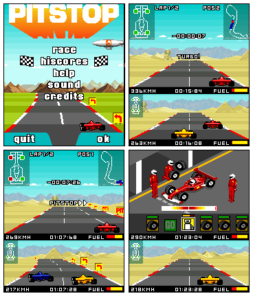 Pitstop Формула Скорости