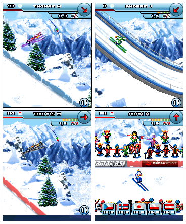 Прыжки на лыжах Ski Jumping Platinum