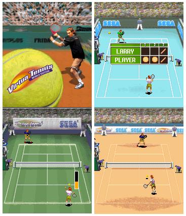 Виртуальный Теннис от SEGA